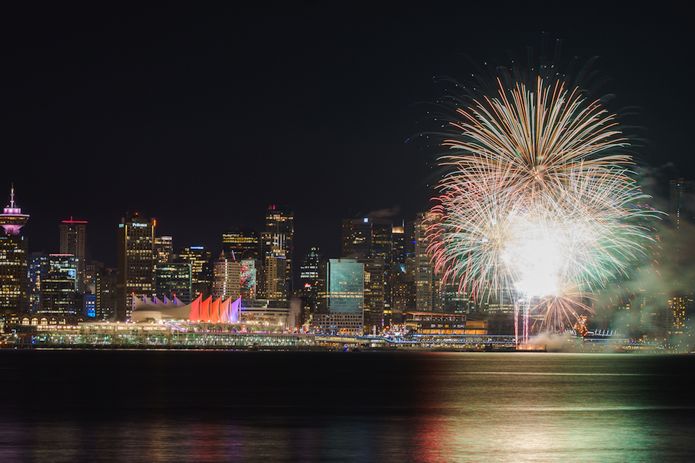 Image: Gabriel Lam / New Year's Eve Vancouver