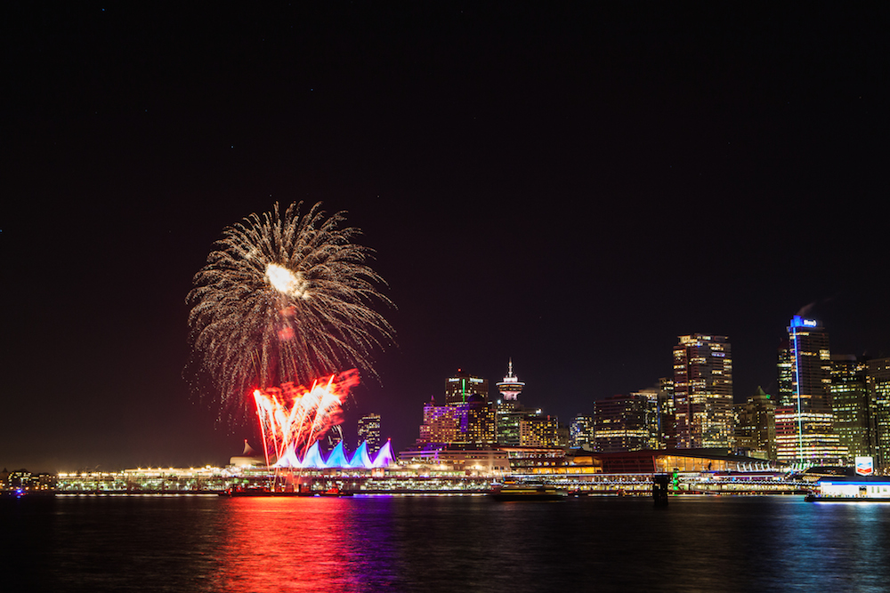 Image: Stephen Lam / New Year's Eve Vancouver
