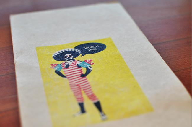 Brunch menu at Nook (Jess Fleming / Vancity Buzz)