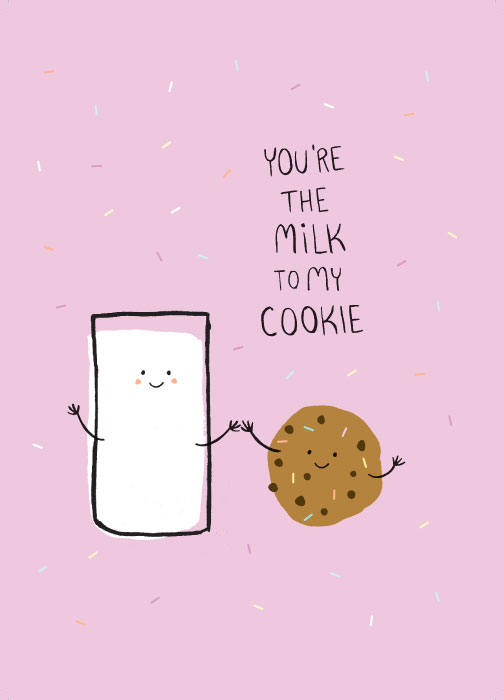 Image: You're the milk to my cookie by JustGreet