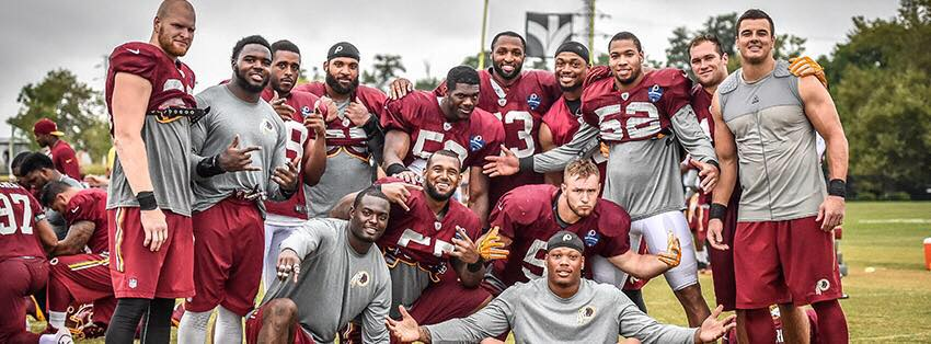 Image: Washington Redskins / Facebook
