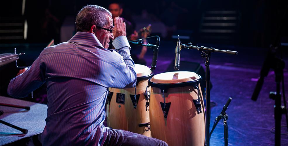 Sal drumming (Arts Umbrella)