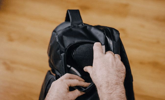 Progo shoe compartment/Kickstarter
