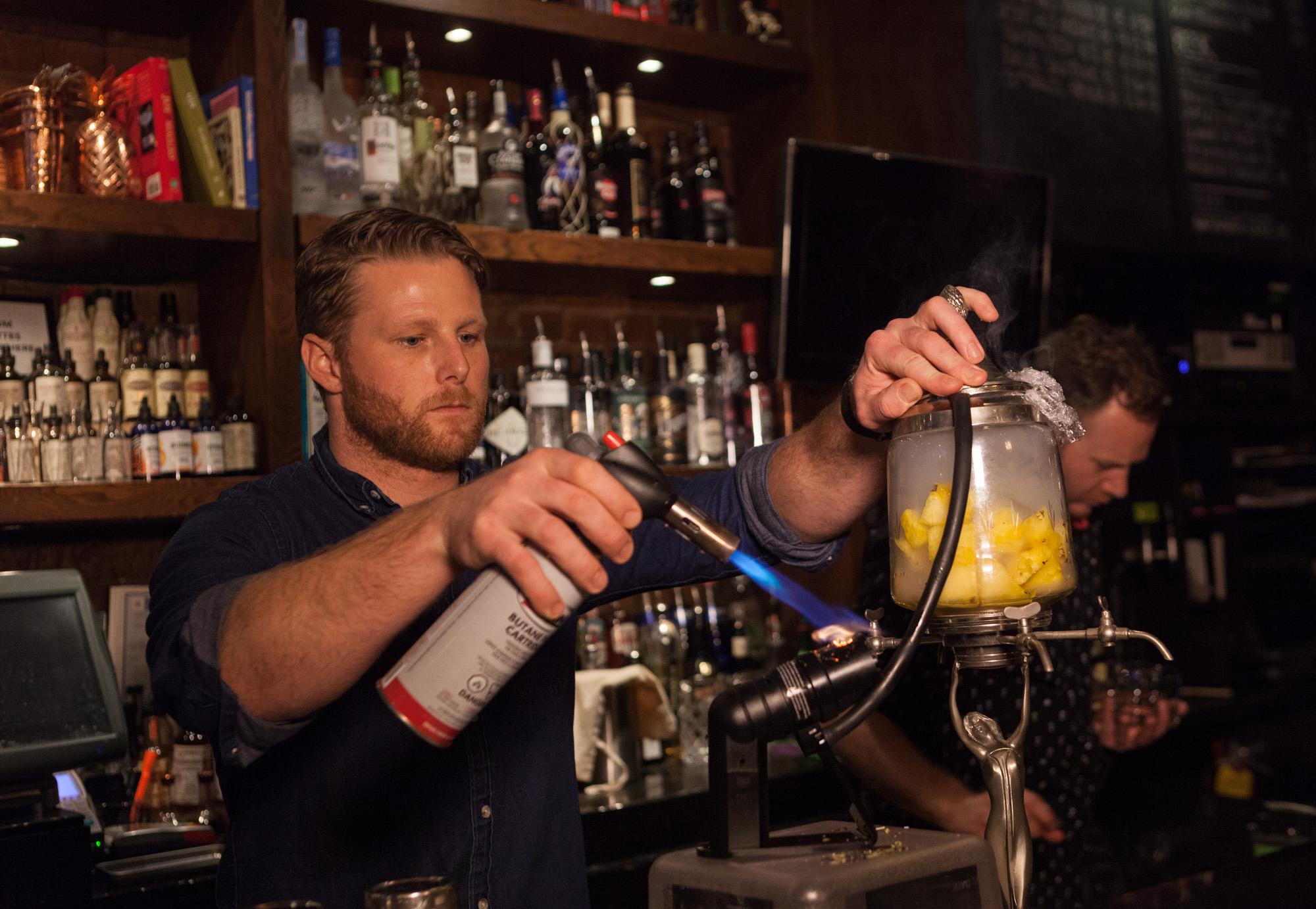 Bartender Grant Sceney/Christopher Guy