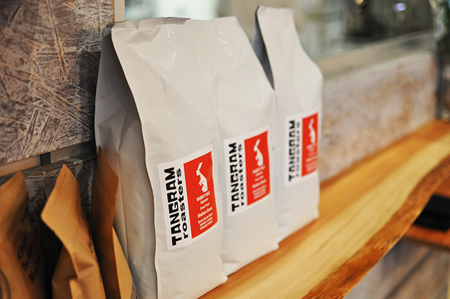 Trangram's locally roasted coffee beans (Jess Fleming / Vancity Buzz)