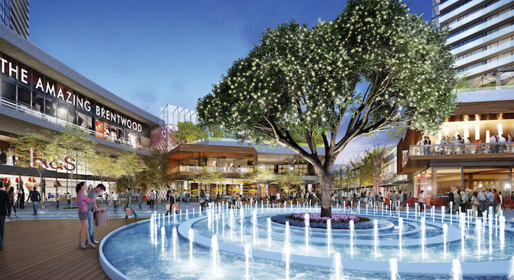 Brentwood Mall, Burnaby, Vancouver, BC, shopping, development
