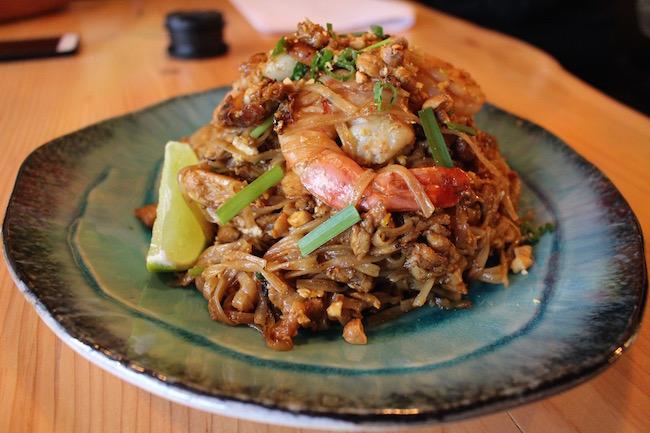 Pad Thai at Bao Down Gastrobar (Lindsay William-Ross/Vancity Buzz)