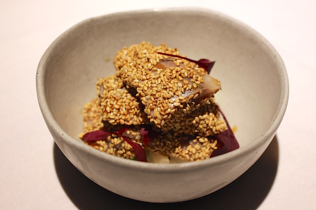 Matjes herring with sesame (Lindsay William-Ross/Vancity Buzz)