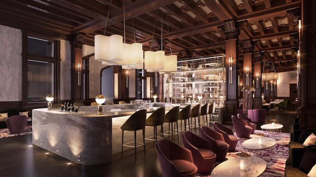 Rendering of new restaurant and bar space (Fairmont Empress/Facebook)
