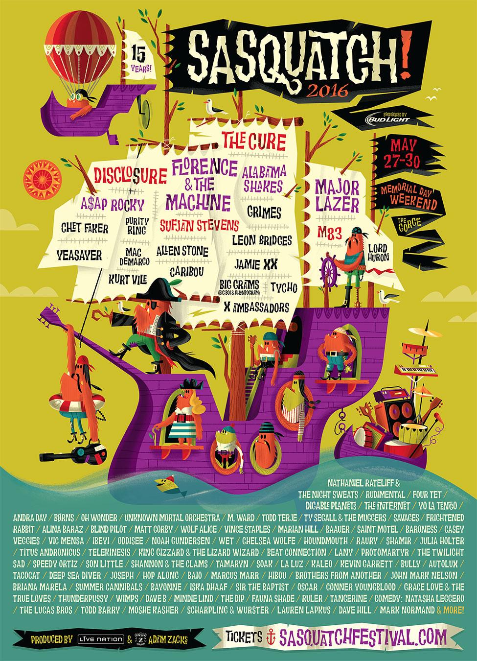 Image: Sasquatch! Festival