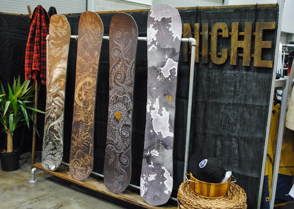 Niche Snowboards - Image: Vanessa Tam / Vancity Buzz