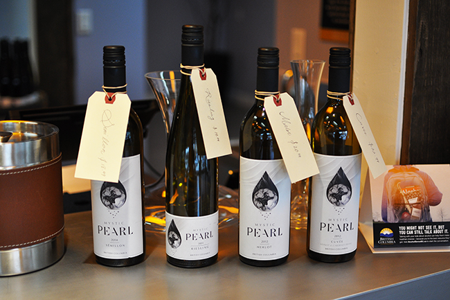 Wine tastings at City Side Winery (Jess Fleming / Vancity Buzz)