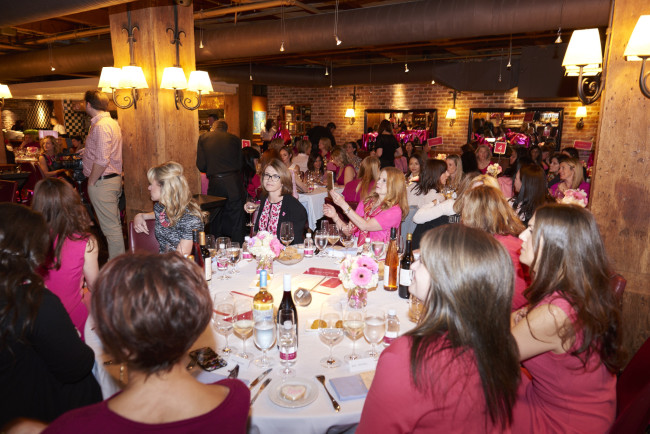 Pink Shirt Day Ladies Luncheon (Erich Saide photography)