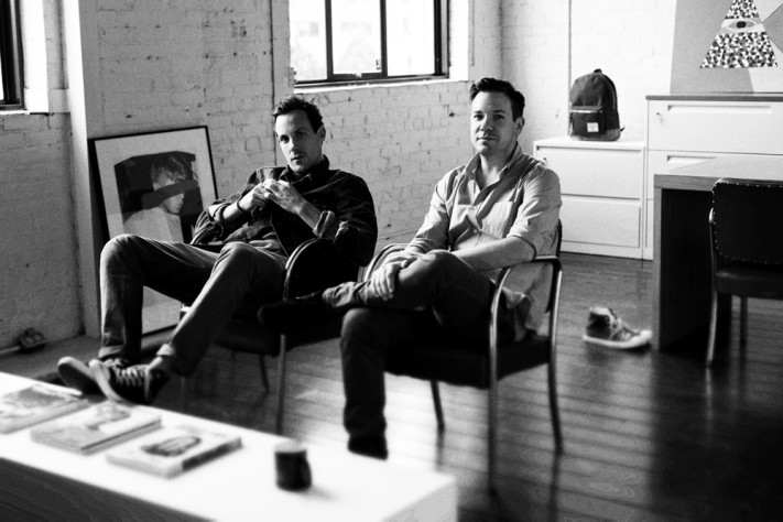 Jamie and Lyndon Cormack. Image: Herschel Supply Co.