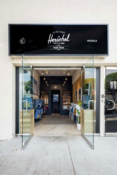 Herschel Supply Co Pop-Up in Los Angeles. Image: Herschel Supply