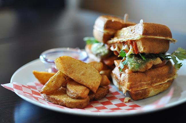 Miura's Baja Waffle (Jess Fleming / Vancity Buzz)