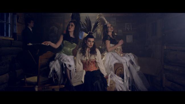 Still shot from Primitive video