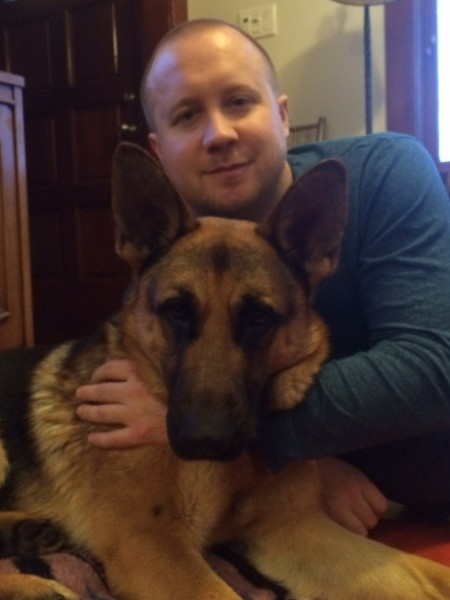 Kody and his foster dad Jon.