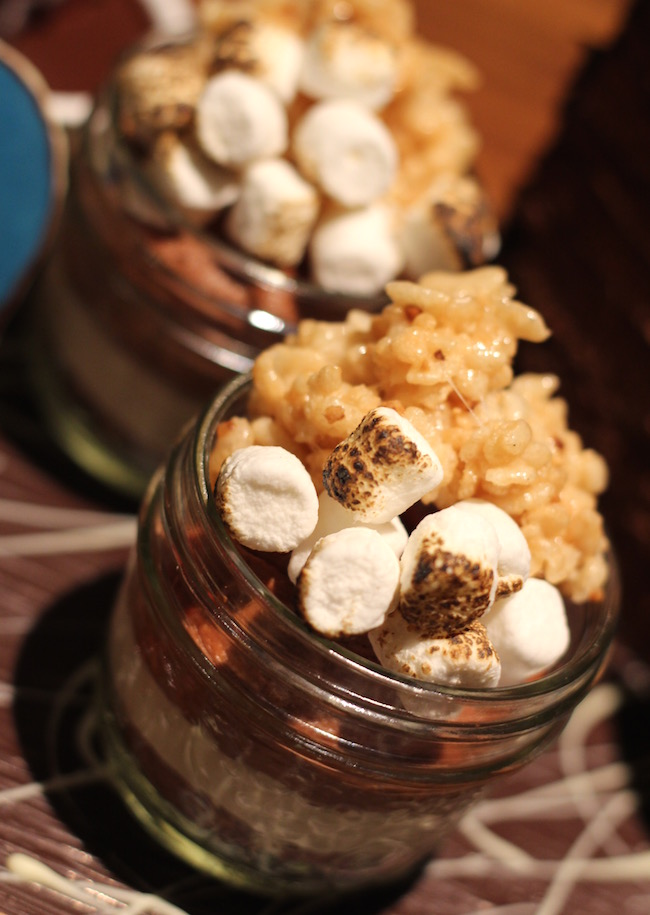 This jarred S'mores-inspired treat is new to the Notch8 dessert menu (Lindsay William-Ross/Vancity Buzz)