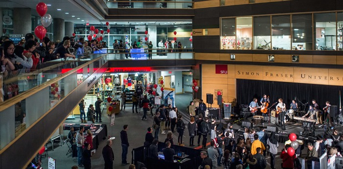 Image: SFU Surrey Open House