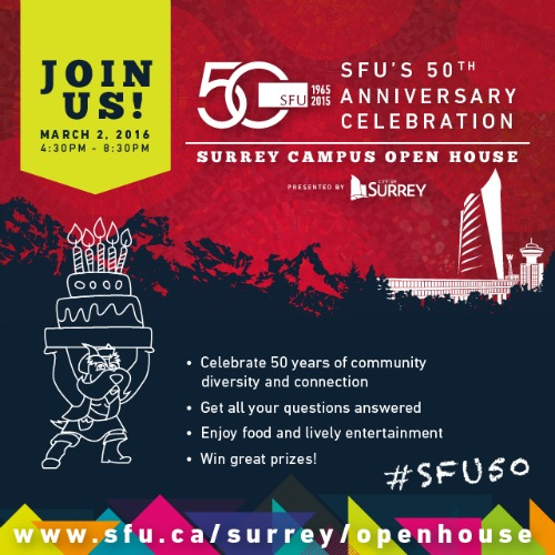 Image: Surrey Campus Open House