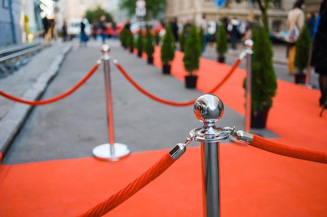 Red carpet/Shutterstock