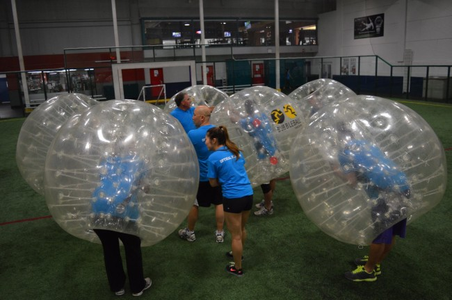 Bubble Ball Vancouver