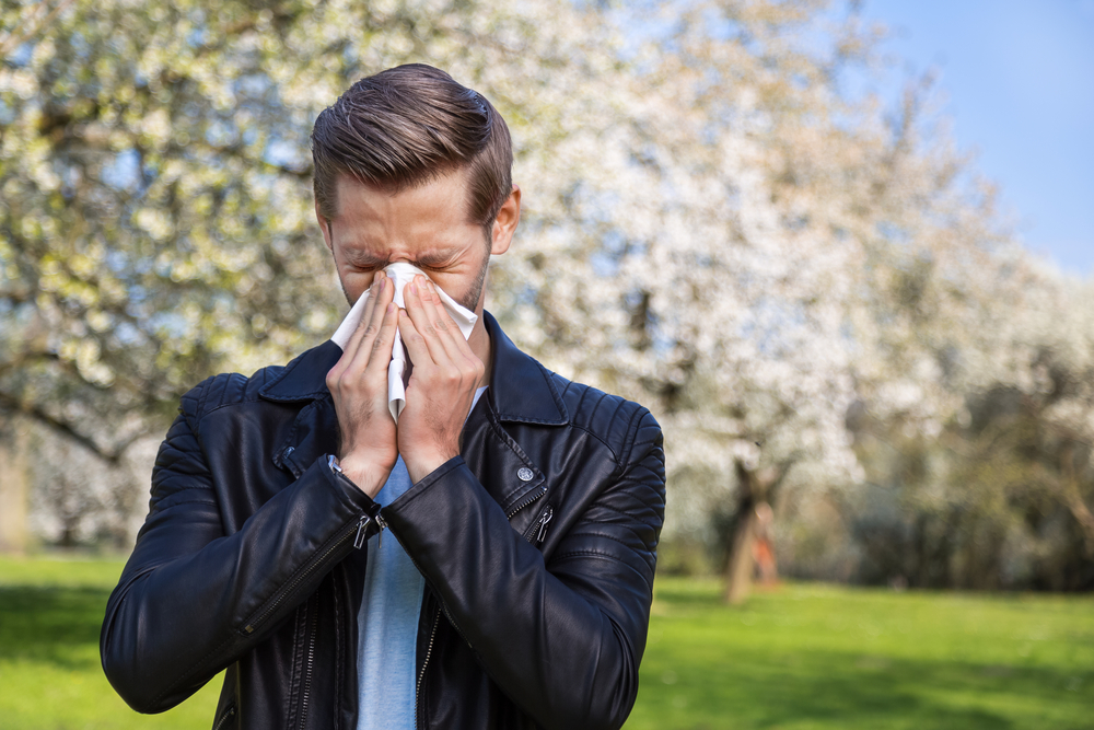 Are your allergies hitting early this spring (Shutterstock)