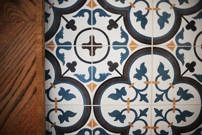 Tiles especially brought it from Vietnam (Jess Fleming / Vancity Buzz)