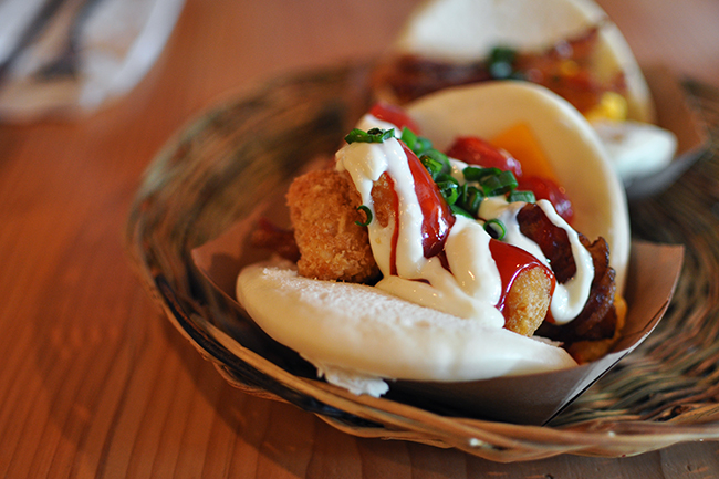 Brunch-inspired Bao buns at Bao Down (Jess Fleming / Vancity Buzz)