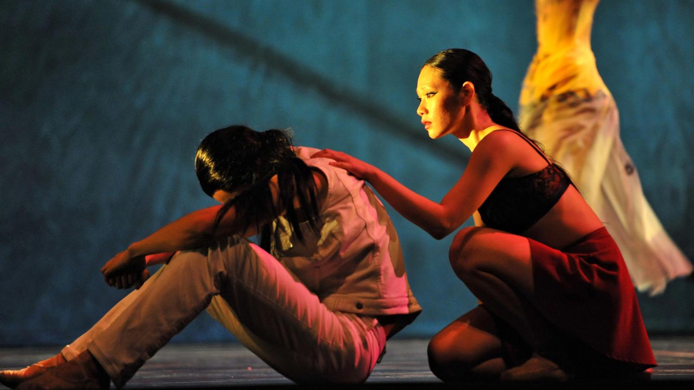 Liang Xing and Sophia Lee – photo by Vince Pahkala