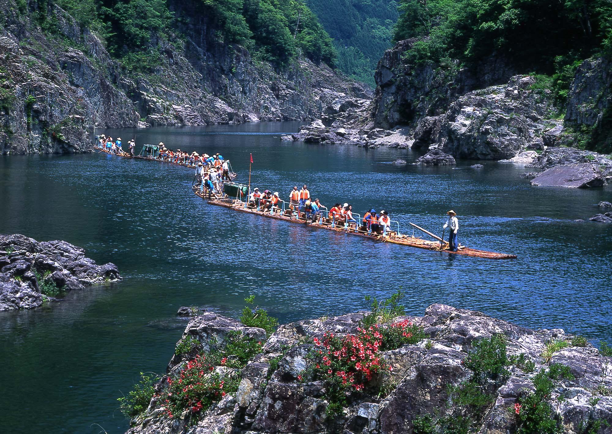 Kitayama River Rafting / JAL