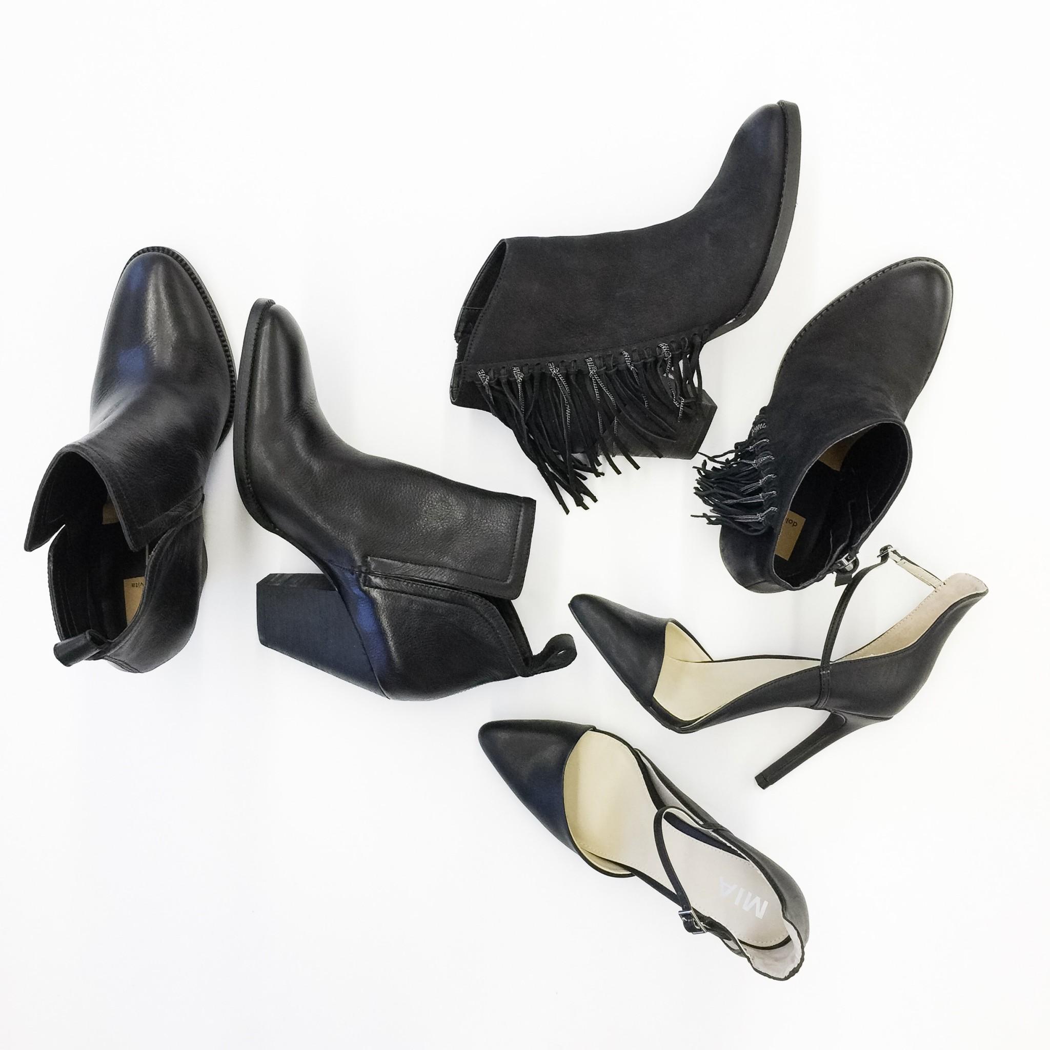 Leather shoes / Plenty
