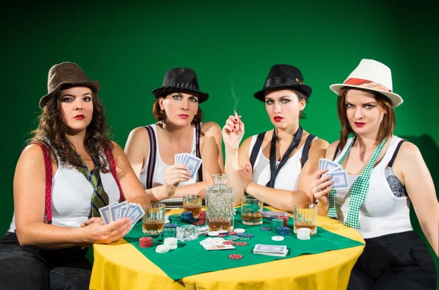 STRAPLESS PRESS PHOTO - Strip Poker