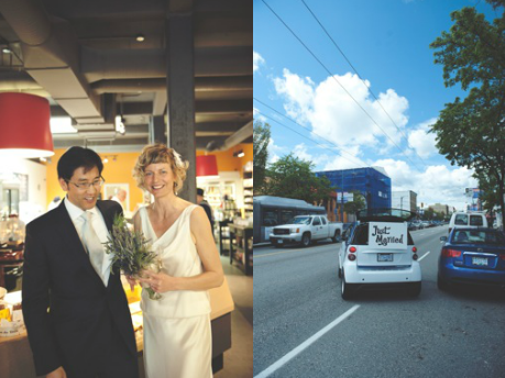 Image: Car2Go wedding
