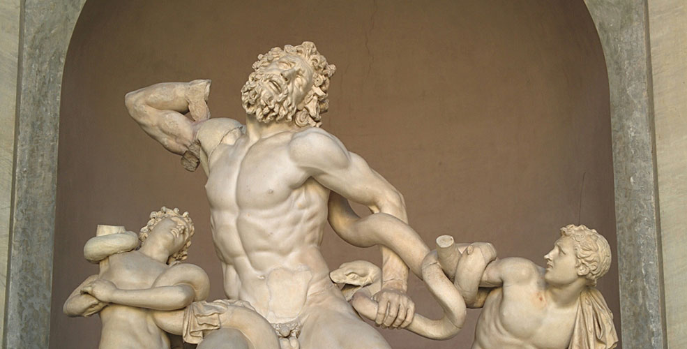 Statue of Laocoön and His Sons in the Vatican Museum (Jenni Sheppard)
