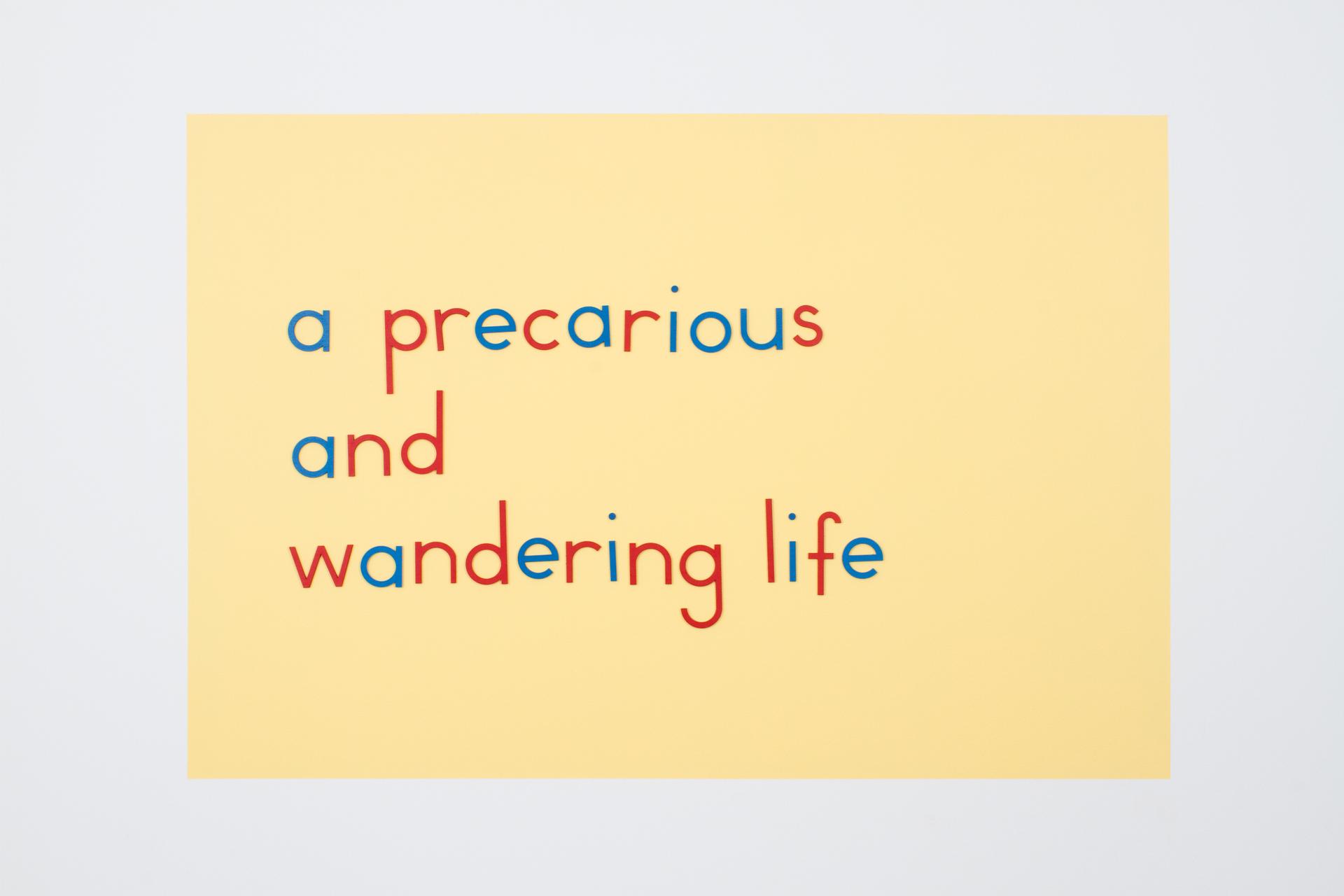 A Vagrant Kind of Life by Erdem Taşdelen - Image: Burrard Arts Foundation
