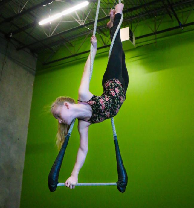 Circus fitness (Svetlana Delous)