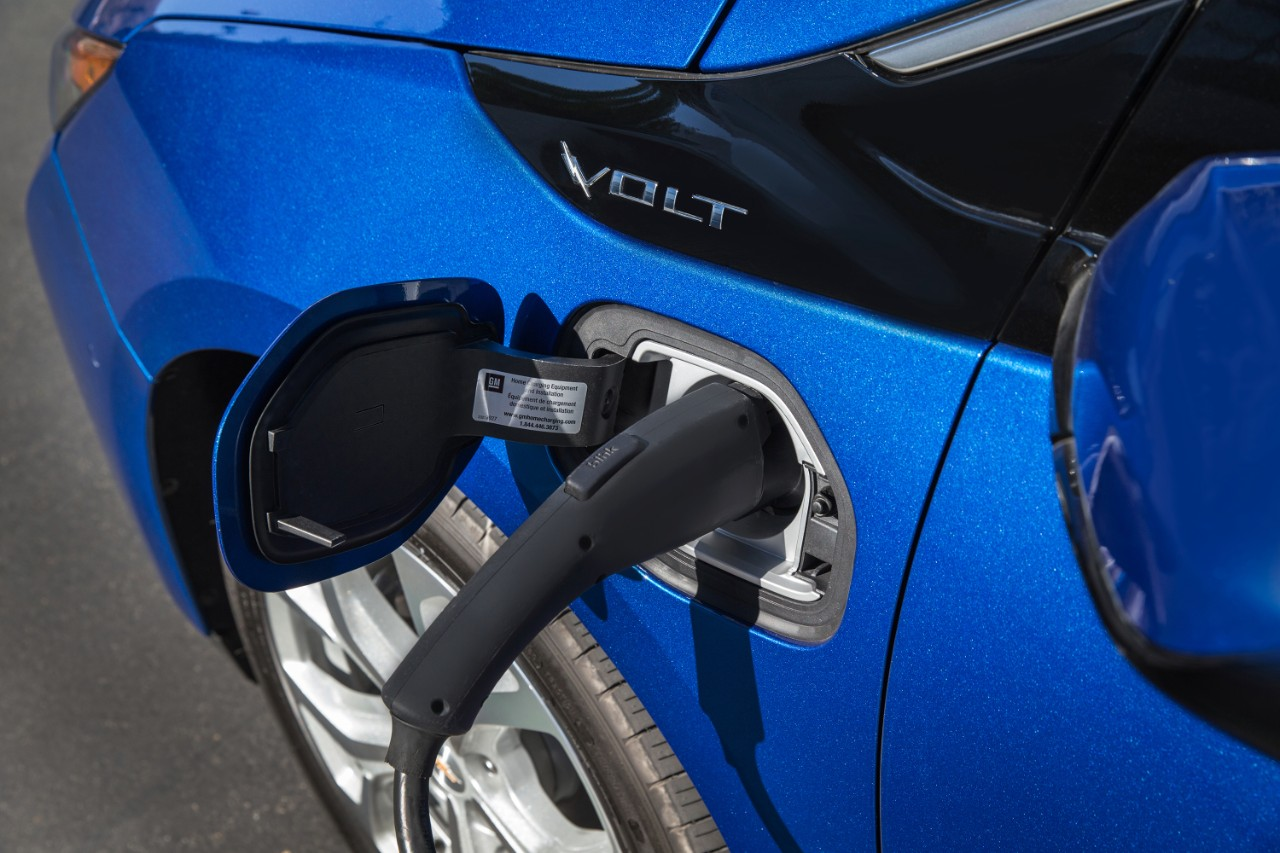 Image: The Chevrolet Volt