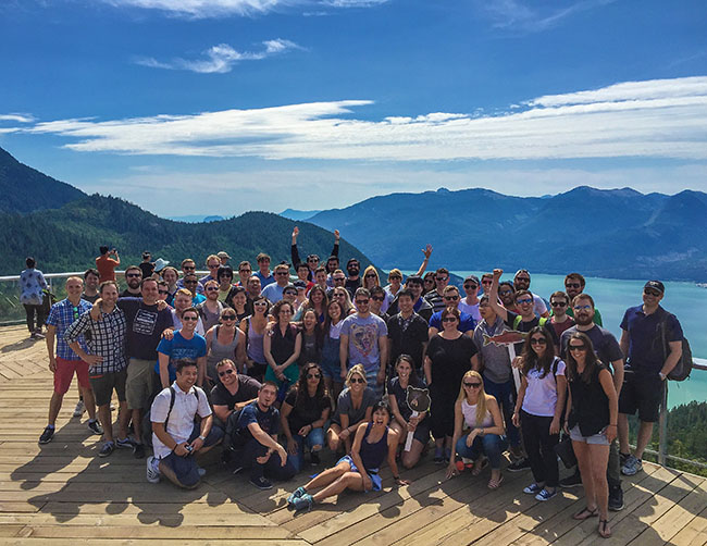 Eventbase might take you on a team outing to the Sea To Sky Gondola in Squamish (Eventbase)