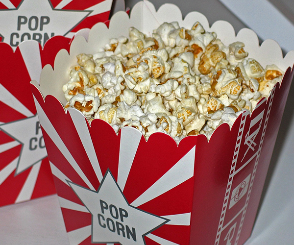 Popcorn, Pixabay