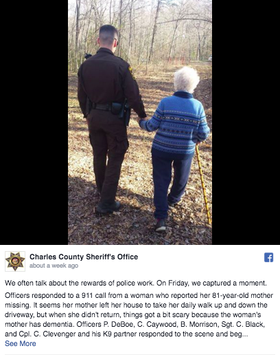 Image: Charles County Sheriff's Office/ Facebook