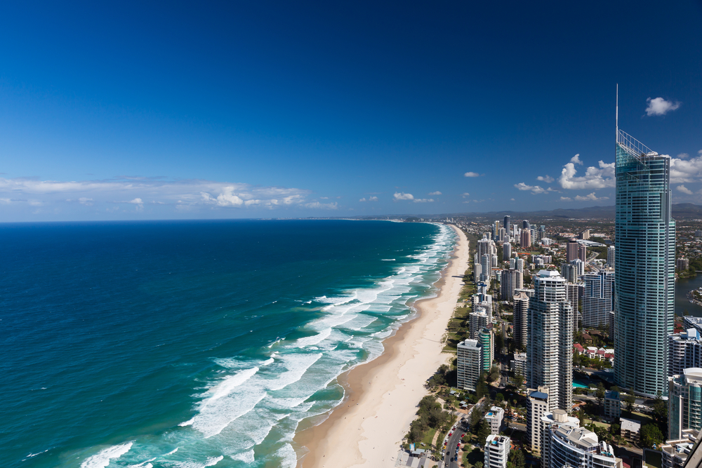 Gold Coast's beaches / Shutterstock