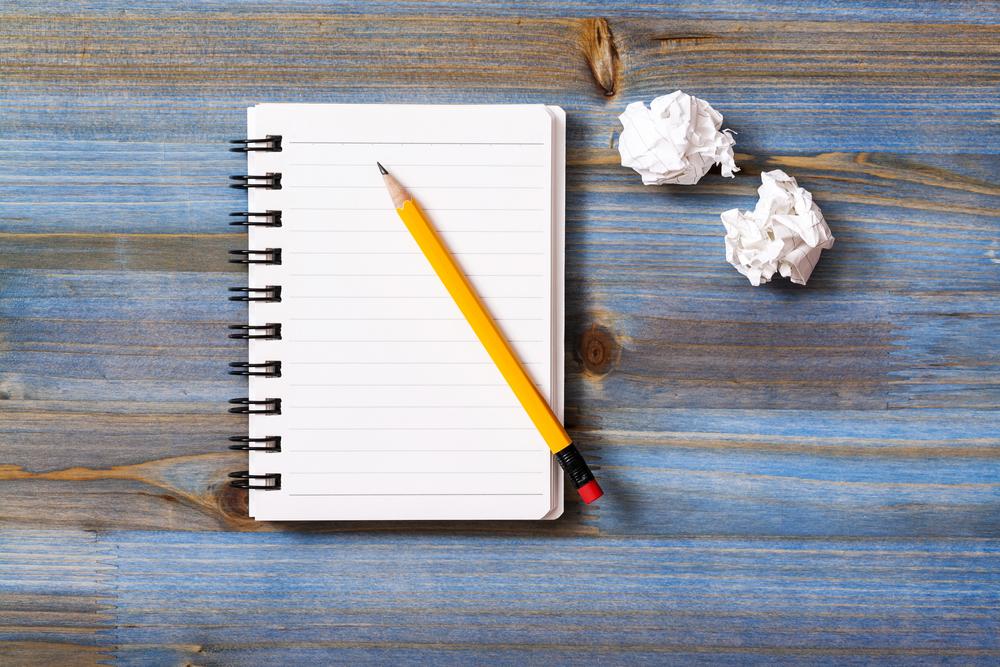 Notebook / Shutterstock
