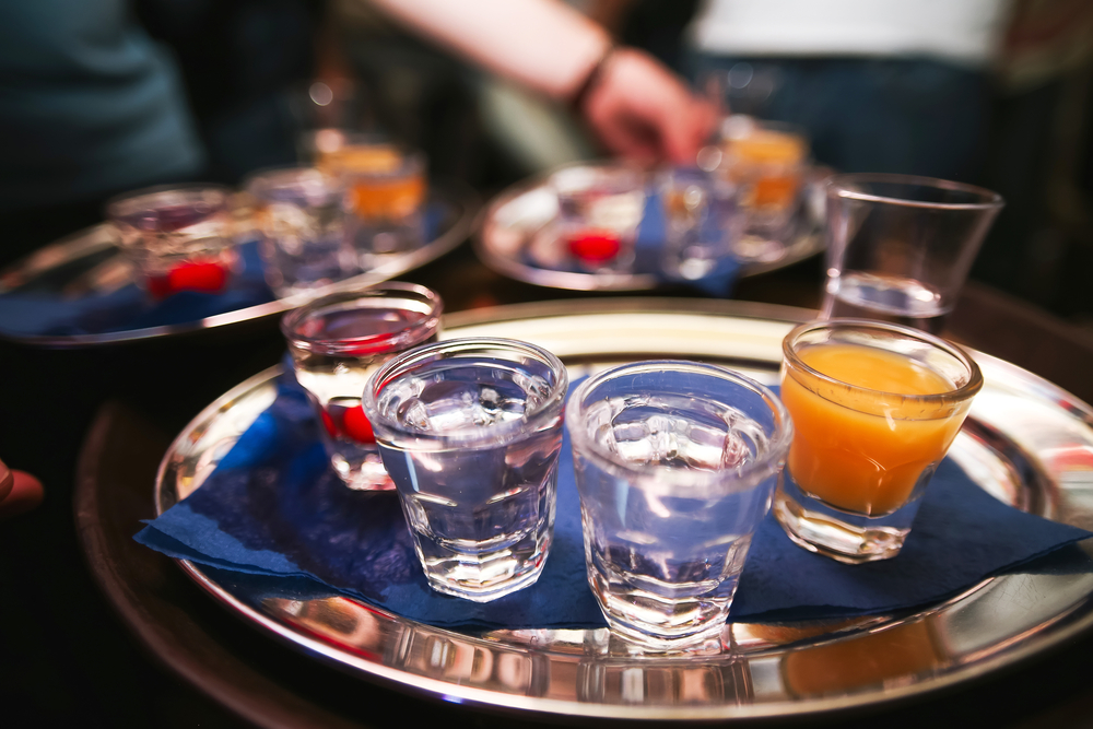 Water and alcohol / Shutterstock