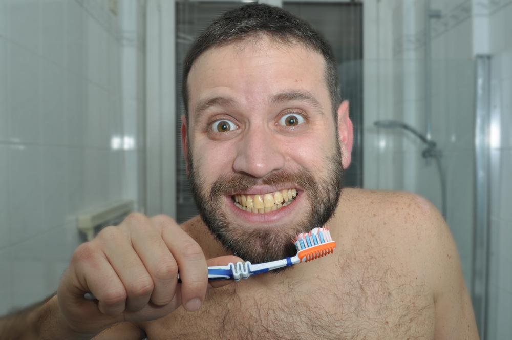 Yellow teeth / Shutterstock