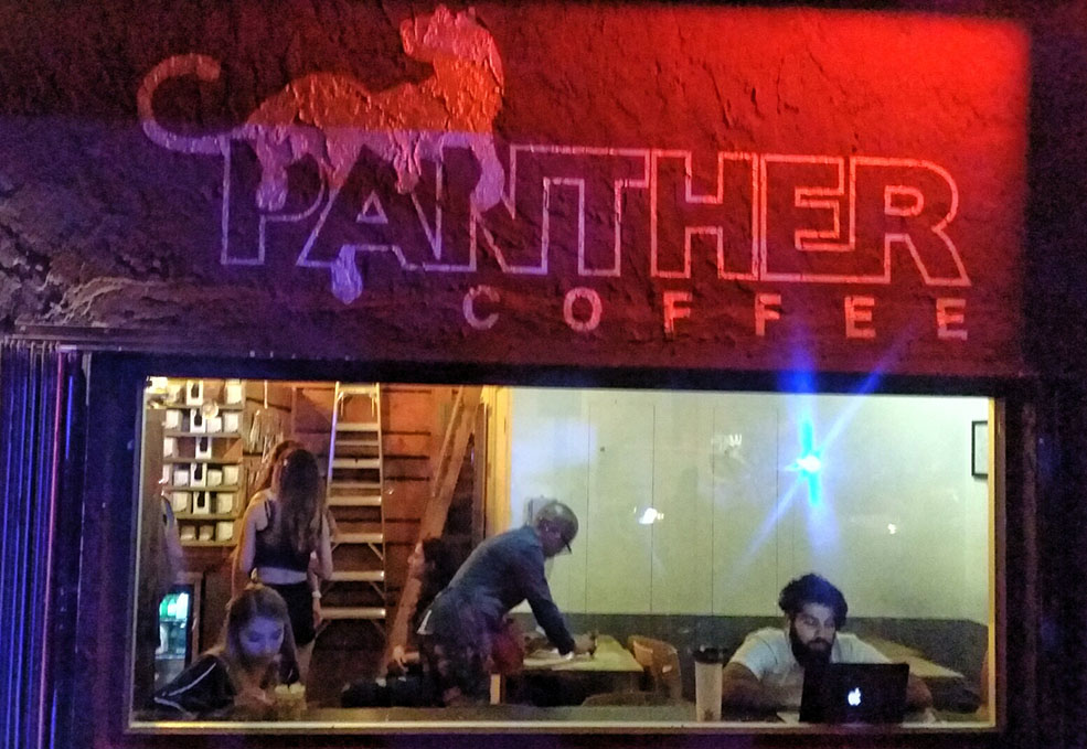 Panther Coffee. (Guillermo Serrano)