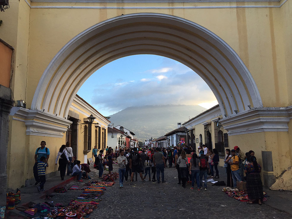 Santa Catalina Arch in Antigua (Dana Kelly)
