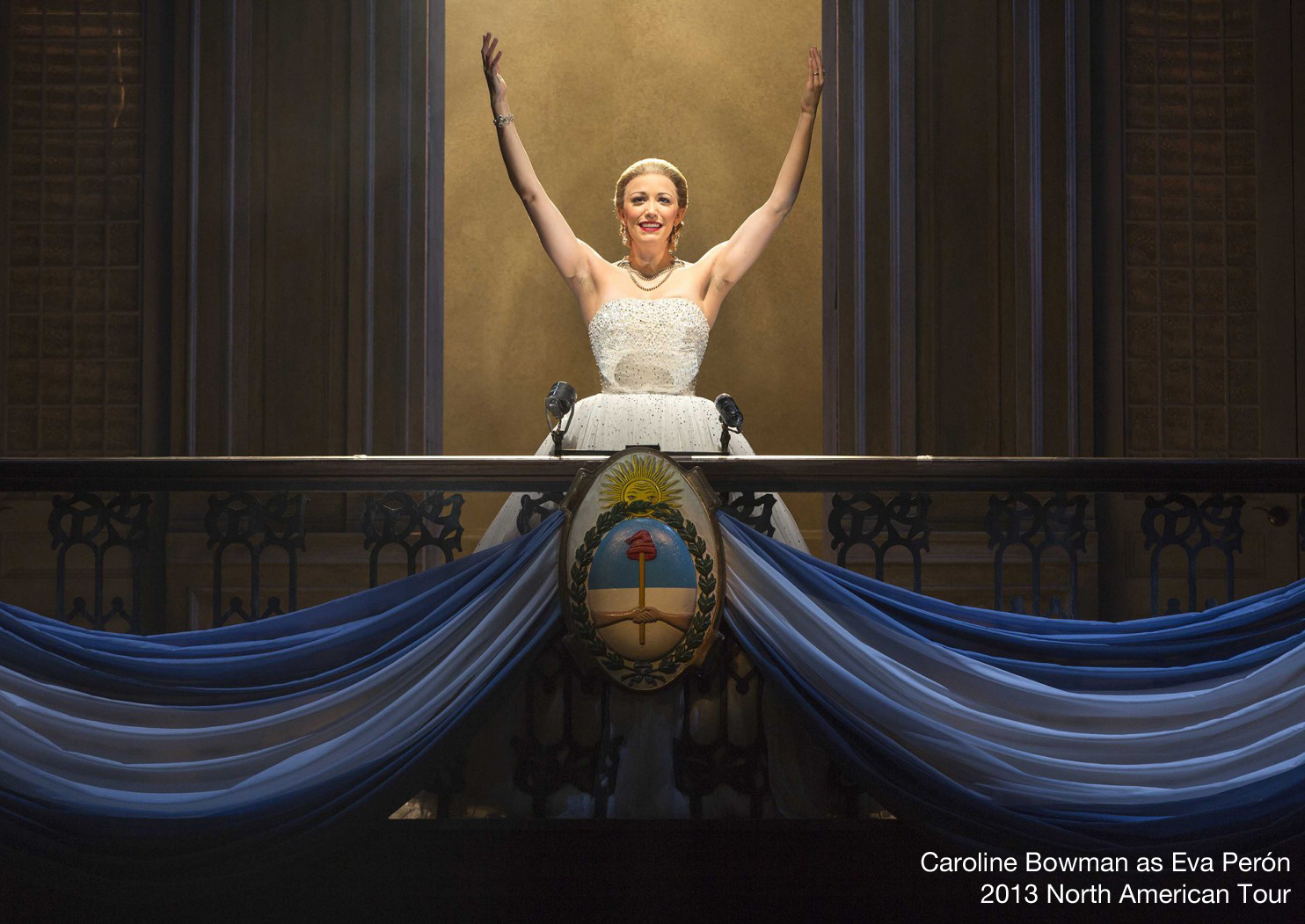 Caroline Bowman as Evita / The Vancouver Opera