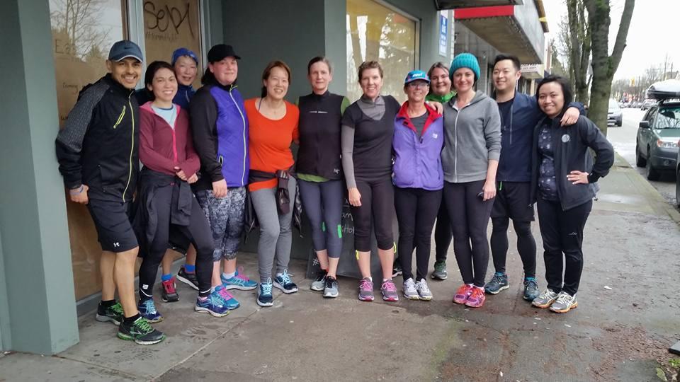 The Eastside Fitness running club (Eastside Fitness/Facebook)